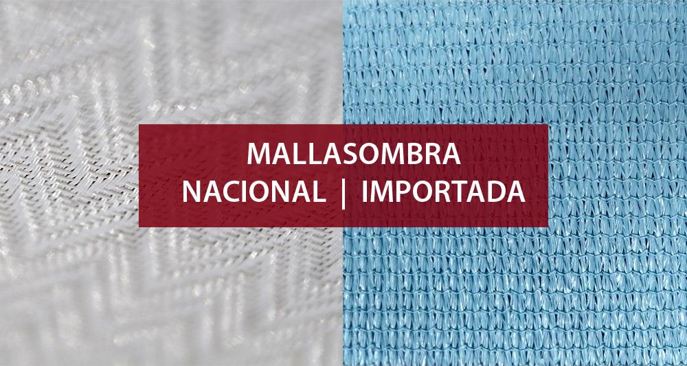 mallasombra nacional importada mexico